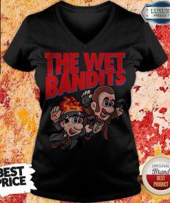 Pretty The Wet Bandits Home Alone Super Mario Funny Massup V-neck