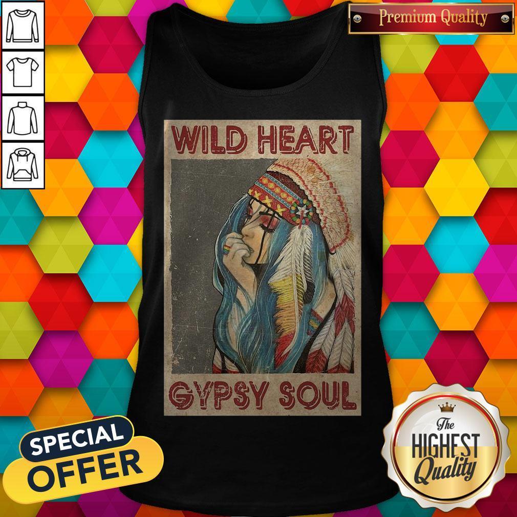 Pretty Wild Heart Gypsy Soul Tank Top
