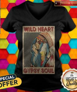 Pretty Wild Heart Gypsy Soul V-neck