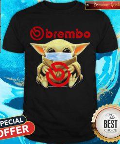 Awesome Baby Yoda Hug Brembo Shirt