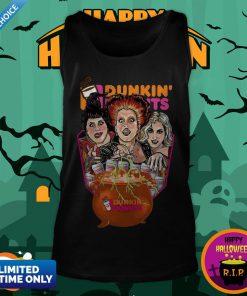Halloween Hocus Pocus Dunkin And Donuts Tee Tank Top