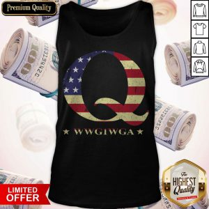 Q Wwg1wga American Flag Independence Day Tank Top