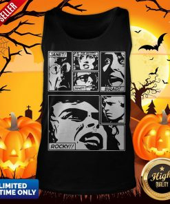 The Rocky Horror Picture Show Janet Dr Scott Brad Rocky Tank Top