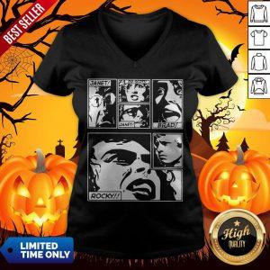 The Rocky Horror Picture Show Janet Dr Scott Brad Rocky V-neck