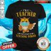 Top I'm A Teacher My Face Is Part Of My Teaching Power Owl Face Mask Shirt