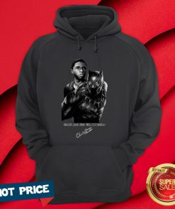 Wakanda Forever After Black Pather Star Chadwick Boseman Dies At 43 Hoodie