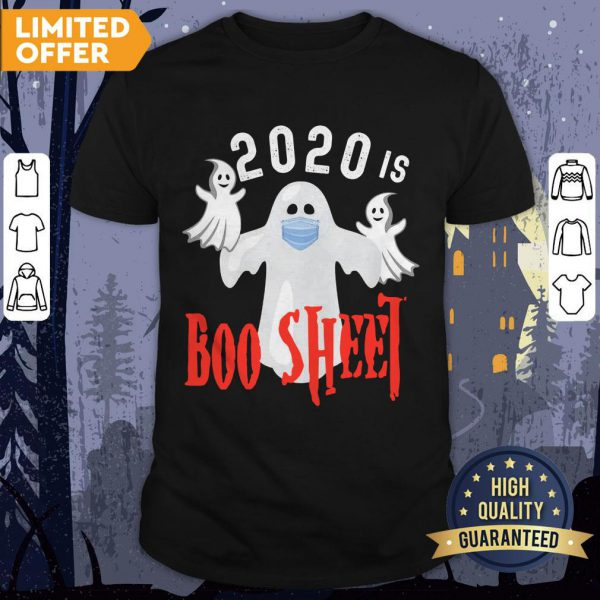2020 Is Boo Sheet Funny Last Minute Halloween Costume T-Shirt