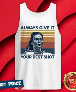 Aileen Wuornos Always Give It Your Best Shot Vintage Tank Top
