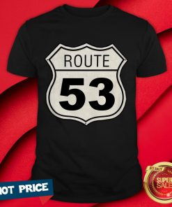 AWS DNS Route 53 Cloud Tee Road Traffic Sign T-Shirt