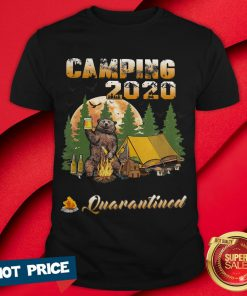 Bear Camping 2020 The One Where They Were Quarantined Shirt