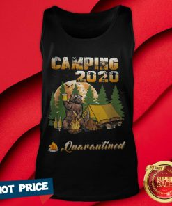Bear Camping 2020 The One Where They Were Quarantined Tank Top