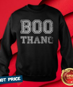 Boo Thing Cute Vintage Women's Halloween Party Ghost Sweatshirt