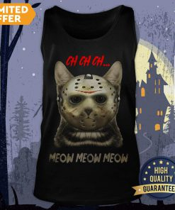 Happy Halloween Cat Ch Ch Ch Meow Meow Meow Tank Top