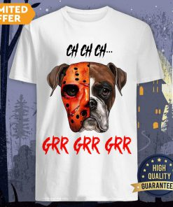 Happy Halloween Dog Ch Ch Ch Grr Grr Grr Shirt