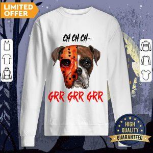 Happy Halloween Dog Ch Ch Ch Grr Grr Grr Sweatshirt
