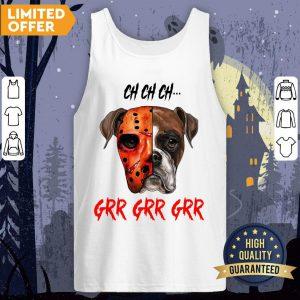 Happy Halloween Dog Ch Ch Ch Grr Grr Grr Tank Top