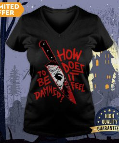 How To Does Be It Damned Feel V-neck