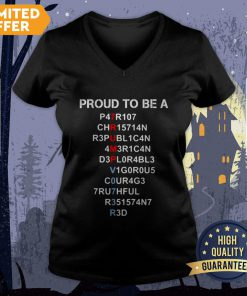 Nice Proud To Be A Trump Halloween V-neck