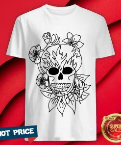 Nice Sugar Skull Plain Shirt