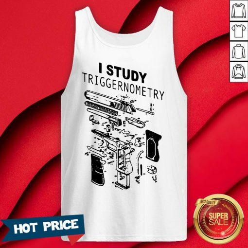 Official I Study Triggernometry Tank Top