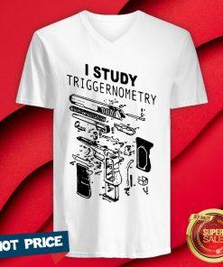 Official I Study Triggernometry V-neck