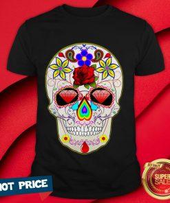 Official Sugar Skull Day Of The Dead Muertos Shirt