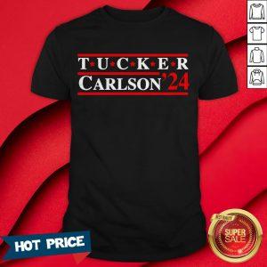 Official Tucker Carlson 2024 Shirt