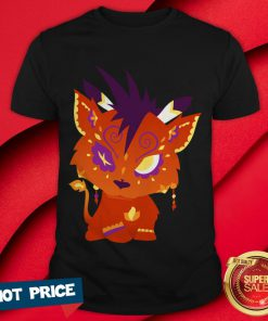 Red XIII Aka Nanaki - Final Fantasy VII Day Of The Dead Dia De Muertos Shirt