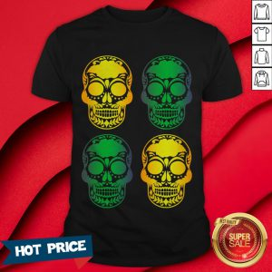 Sugar Skulls Mexico To Celebrate The Holiday Day Of The Dead Shirt