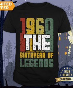 Vintage 1960 The Birthyear Of Legends Shirt