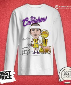Los Angeles Lakers The Carushow Sweatshirt - Desisn By Reallovetees.com