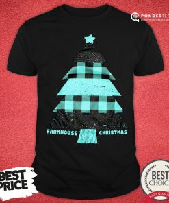 Mint Farmhouse Christmas Raglan Shirt - Desisn By Reallovetees.com