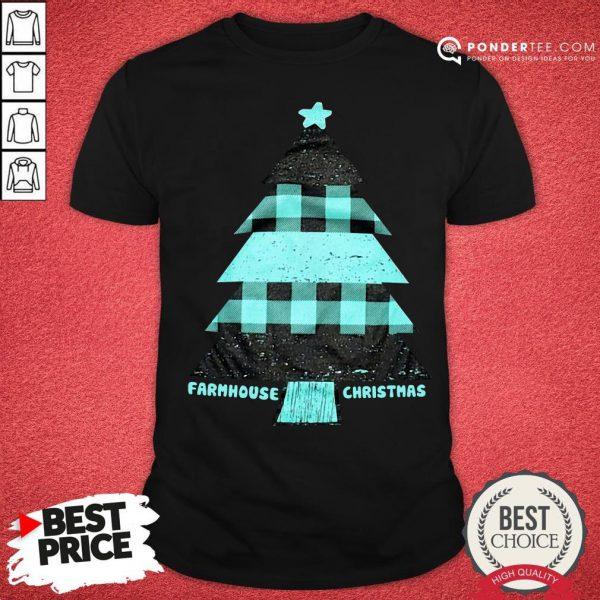 Mint Farmhouse Christmas Raglan Shirt - Desisn By Reallovetees.com