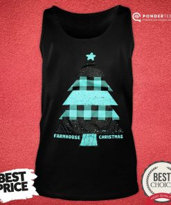 Mint Farmhouse Christmas Raglan Tank Top - Desisn By Reallovetees.com