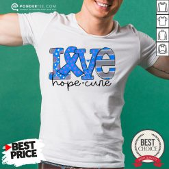 Official Love Hope Cure Shirt - Desisn By Reallovetees.com