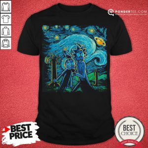 Rick And Morty The Scream Paiting Shirt - Desisn By Reallovetees.com