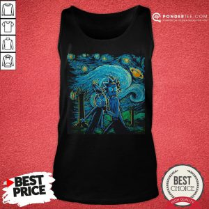 Rick And Morty The Scream Paiting Tank Top - Desisn By Reallovetees.com