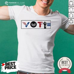 Vote For Liberty RBG Peace BLM Equality Shirt - Desisn By Reallovetees.com