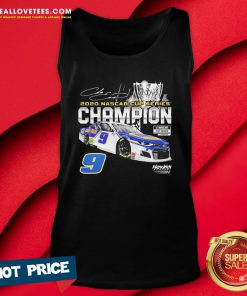 Cute 9 Hendrick Motorsports 2020 Nascar Cup Series Champion Signature Tank Top - Design By Reallovetees.com