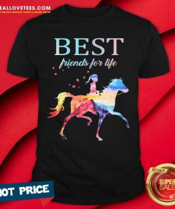 Nice Horse Best Friends For Life Shirt - Design By Reallovetees.com