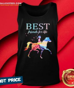 Nice Horse Best Friends For Life Tank Top - Design By Reallovetees.com