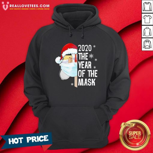 Nice Mailbox Santa 2020 The Years Of The Mask Christmas Hoodie - Design By Reallovetees.com
