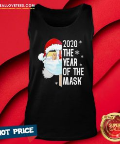 Nice Mailbox Santa 2020 The Years Of The Mask Christmas Tank Top- Design By Reallovetees.com
