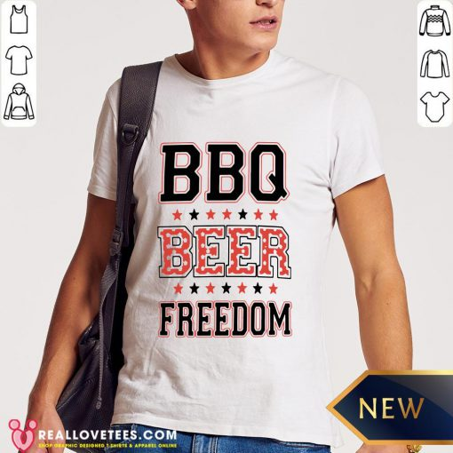 Perfect BBQ Beer Freedom Shirt - Design By Reallovetees.com