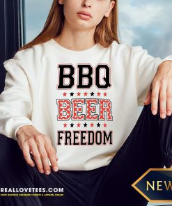 Perfect BBQ Beer Freedom Sweatshirt - Design By Reallovetees.com