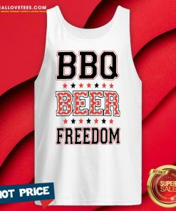Perfect BBQ Beer Freedom Tank Top - Design By Reallovetees.com