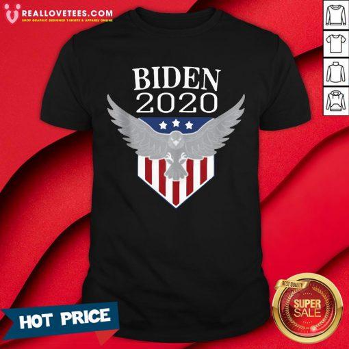 Perfect Biden 2020 Vote 46th Presidential Election Joe Biden Shirt - Design By Reallovetees.com