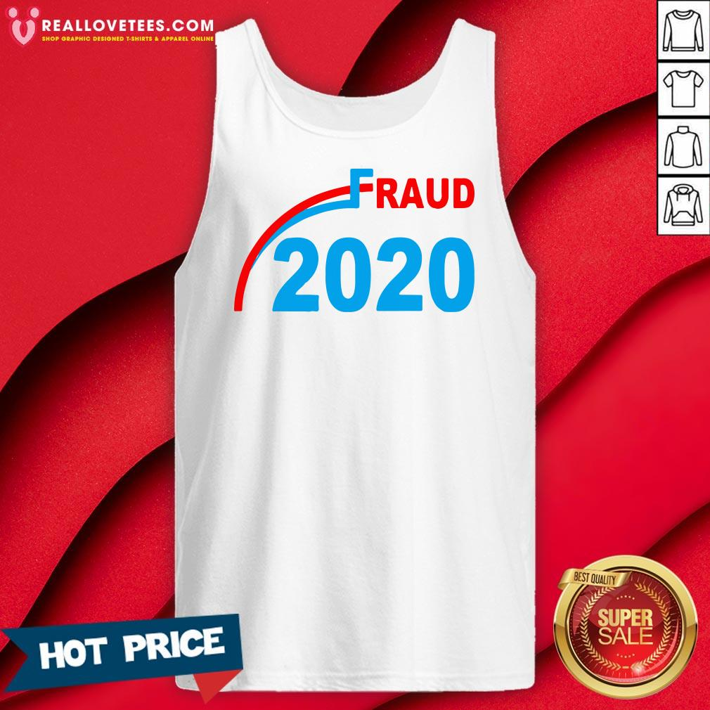 Premium Election 2020 Fraud Tank Top - Design By Reallovetees.com