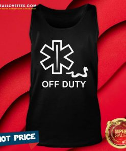 Premium Good EMT Decal Off Duty Tank Top - Design By Reallovetees.com