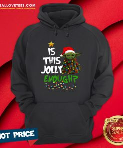 Premium Is This Jolly Enough Hoodie - Design By Reallovetees.com